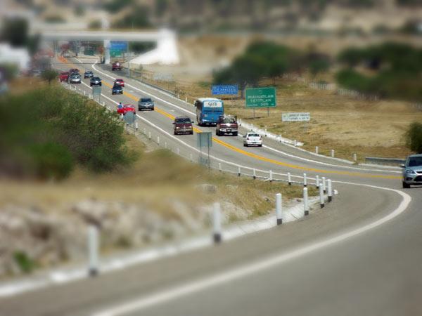 ドライブの旅。オアハカ~メキシコシティへカムバック