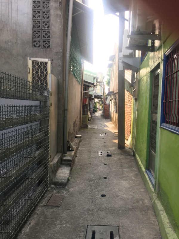 屏東市街の路地裏