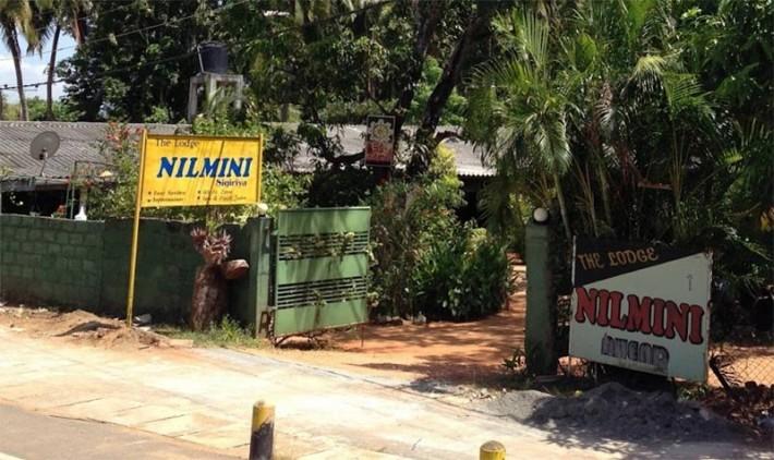 シーギリヤの宿 Nilmini