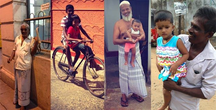 笑顔のスリランカ人