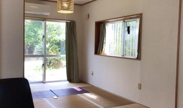沖縄の旅 屋我地島のAirbnb