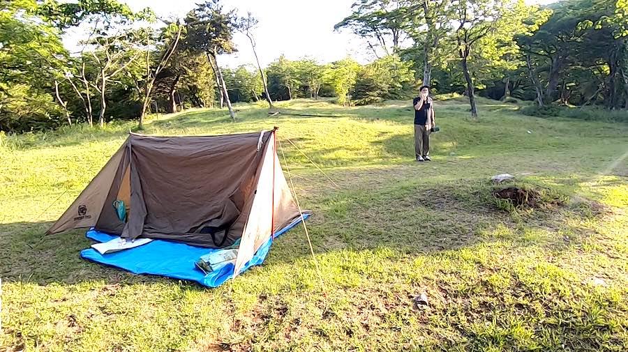 雲仙白雲の池キャンプ場