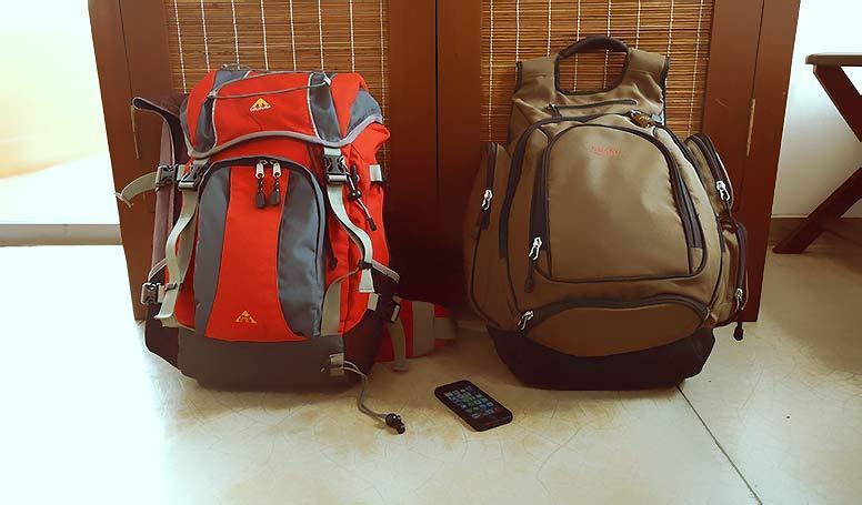 1か月の旅もリュック一つで十分。旅の持ち物もミニマル化しよう