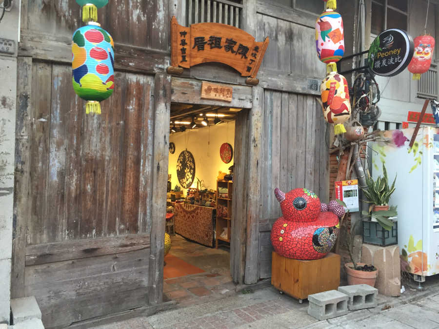 神農老街のスナップ写真