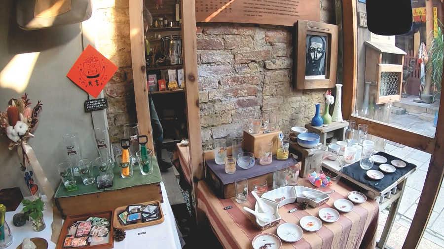 カフェ聶楼の雑貨