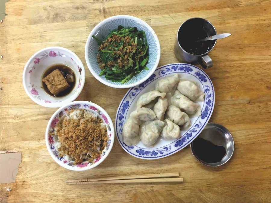 食堂「戽斗」の料理