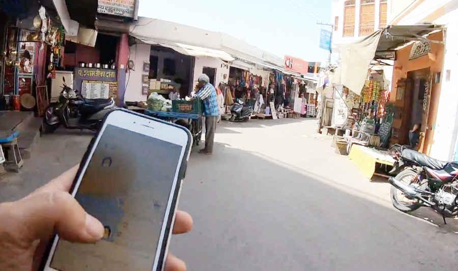 インドで現地集合