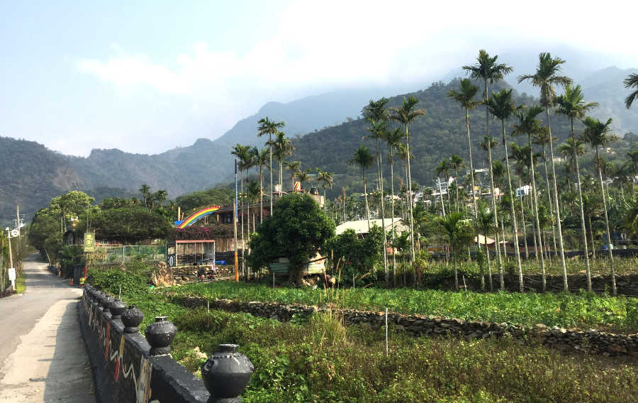 霧台・神山の風景