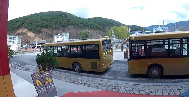 松賛林寺シャトルバス