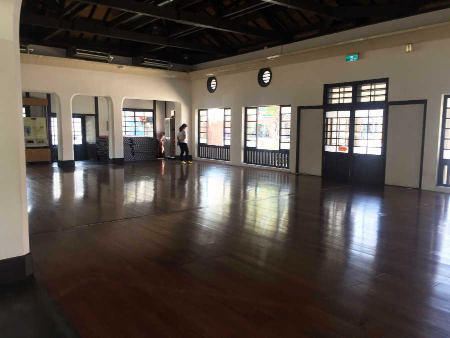 新化郡武徳殿の内部