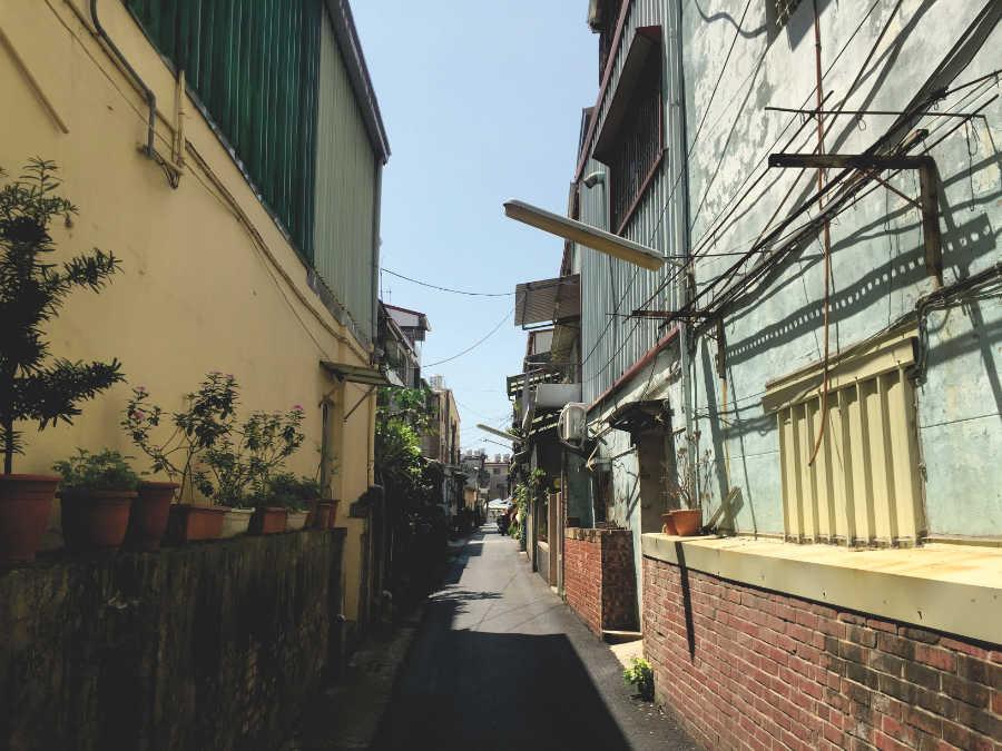 新化老街の裏路地散策