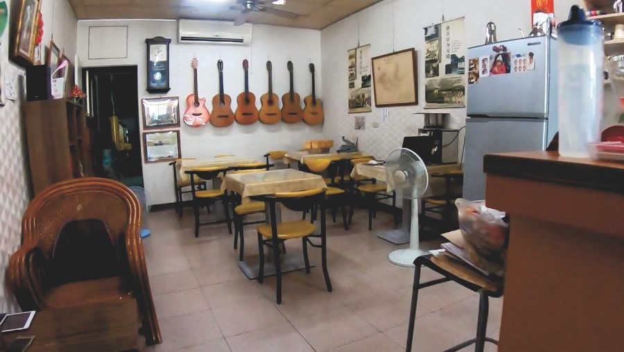 新化老街咖啡の店内
