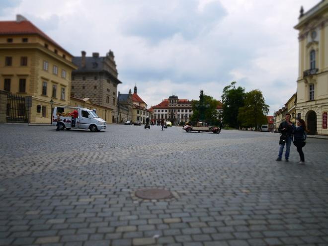 プラハ城周辺