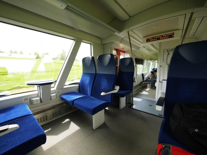 チェコの列車