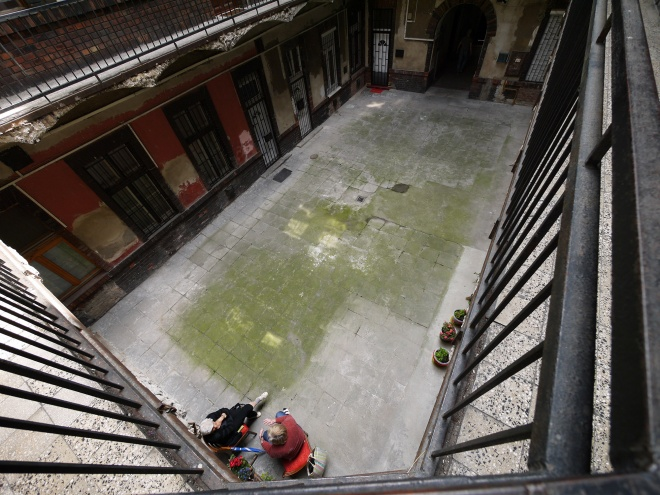 ブダペストのアパートメント