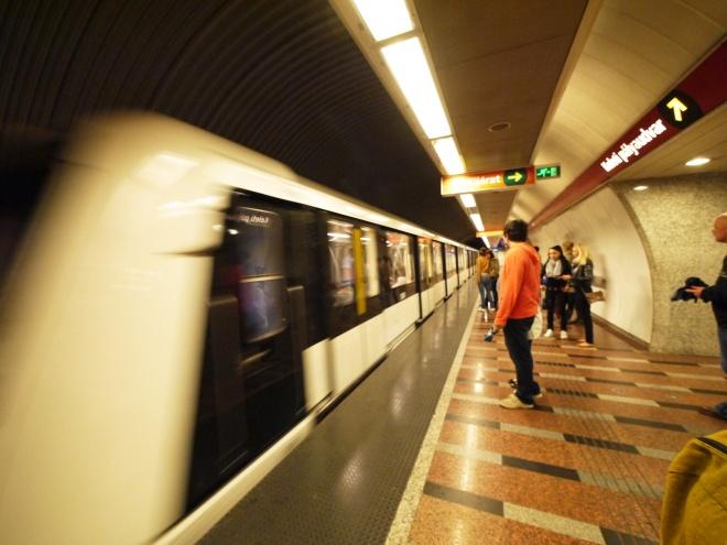 ブダペストの地下鉄