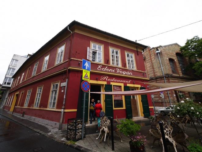 ブダペストのレストラン