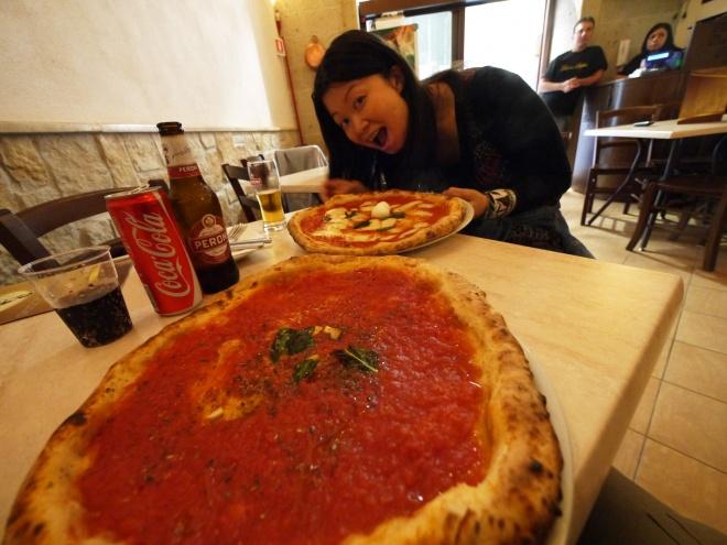 ナポリのピザ