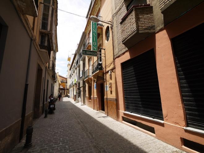 スペインの街角